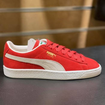 SUEDE CLASSIC XXI RED